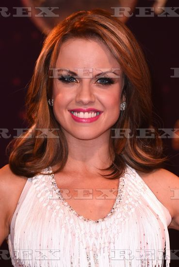Joanne Clifton Strictly Come Dancing Red Carpet 2014